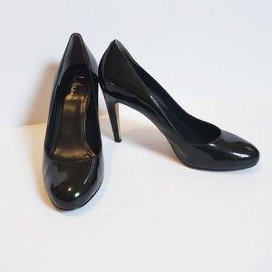 Cole Haan Nike Air Black Patent Pumps Size 9